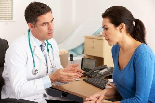 Đi khám để nhận lời khuyên từ bác sĩ