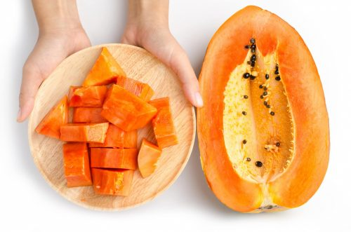 Lưu ý cho người bị trào ngược axit dạ dày khi ăn đu đủ