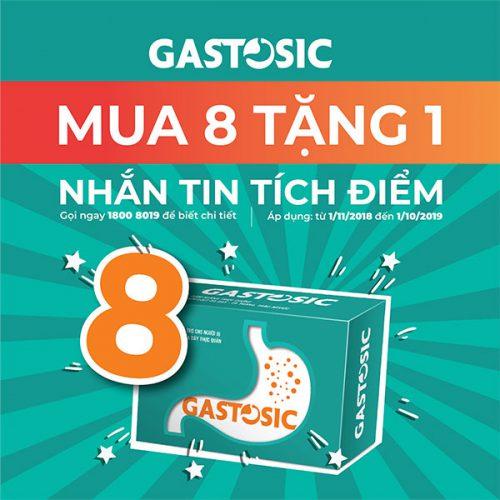 Giá bán sản phẩm Gastosic và cách sử dụng hiệu quả điều trị trào ngược dạ dày