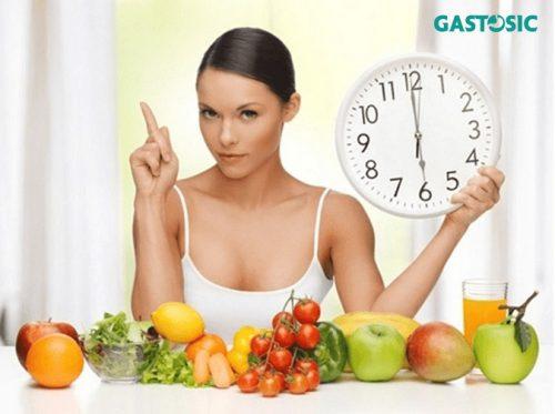 Duy trì thói quen ăn uống để tốt cho dạ dày