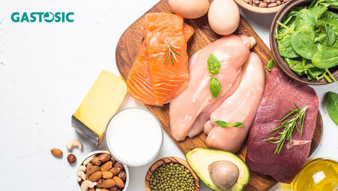 Thực phẩm chứa chất đạm ngăn chặn chứng ợ chua hiệu quả
