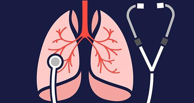 Viêm hô hấp biến chứng của ợ hơi sau khi ăn