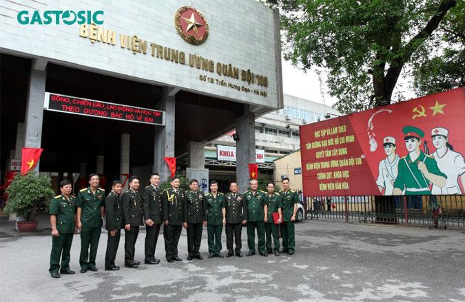Bệnh viện trung ương quân đội 108 địa chỉ khám trào ngược dạ dày uy tín