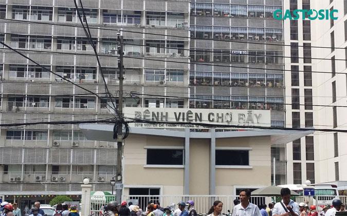 Trào ngược dạ dày khám bệnh viện Chợ Rẫy