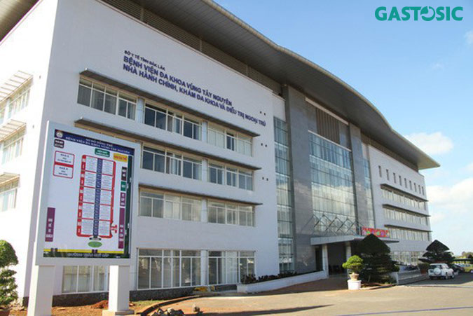 Bệnh viện đa khoa vùng Tây Nguyên khám trào ngược dạ dày