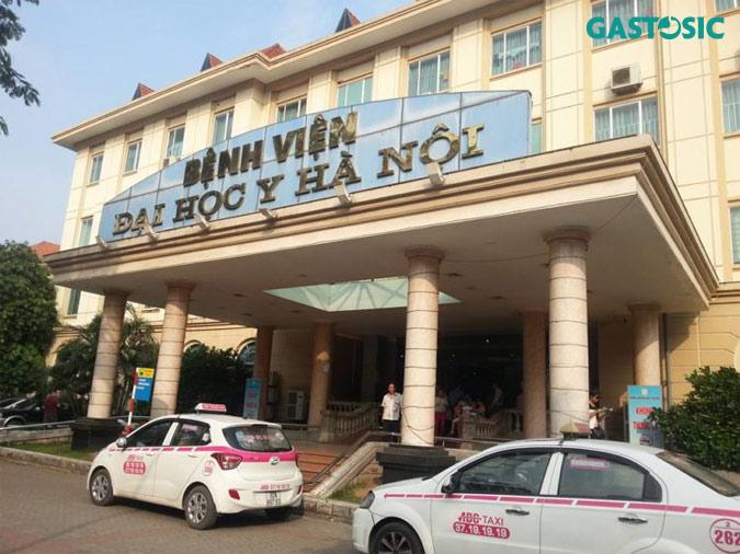 Trào ngược dạ dày khám ở bệnh viện Y Hà Nội
