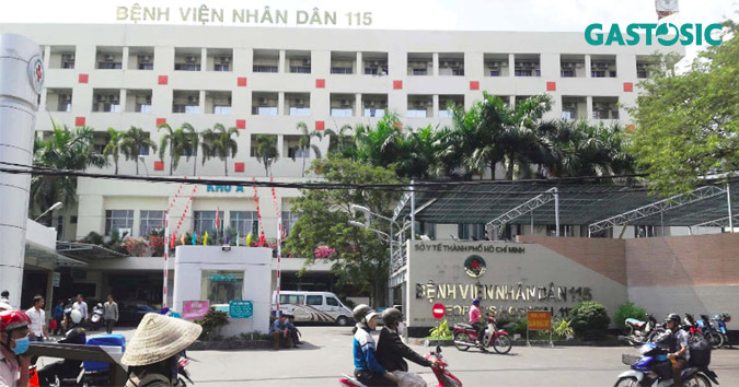 Trào ngược dạ dày khám bệnh viện Nhân Dân 115