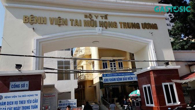 Khám trào ngược dạ dày tại bệnh viện Tai Mũi Họng