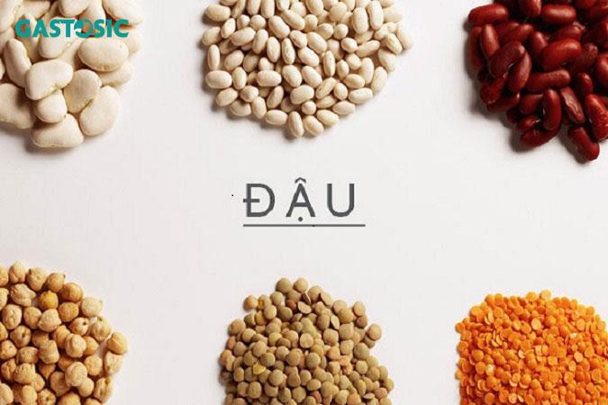 Có nhiều món ăn chữa trào ngược dạ dày từ các loại đậu
