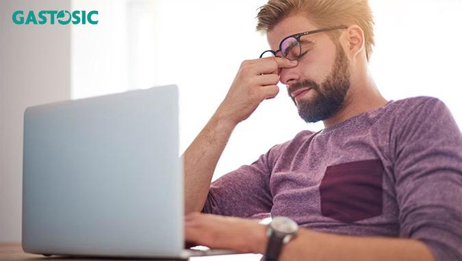 Căng thẳng, stress nguyên nhân gây trào ngược dạ dày