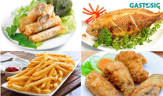 Hạn chế ăn đồ ăn dầu mỡ không tốt cho ợ chua buồn nôn