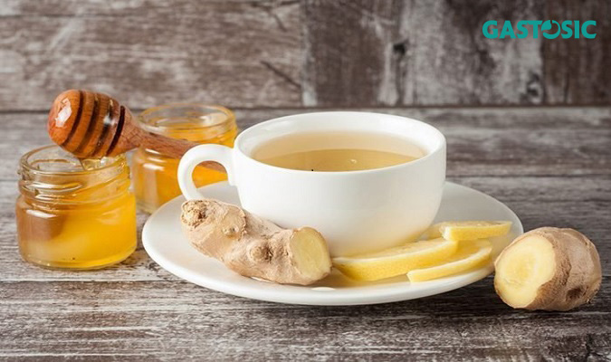 Trà gừng làm giảm các triệu chứng của đau dạ dày