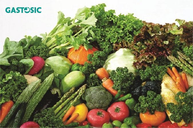 Món ăn chữa trào ngược dạ dày từ rau quả