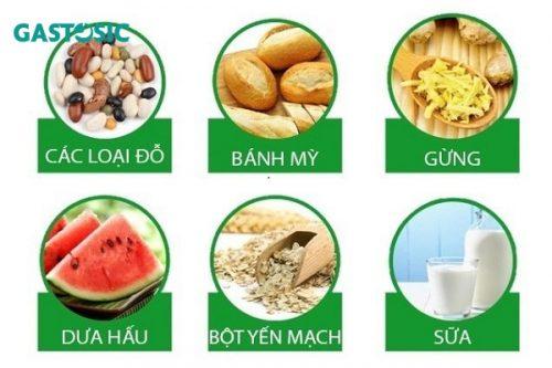 Món ăn tốt cho những người bị trào ngược dạ dày