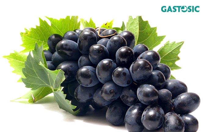 Nho là 1 trong những loại hoa quả có tác dụng tốt cho tiêu hóa