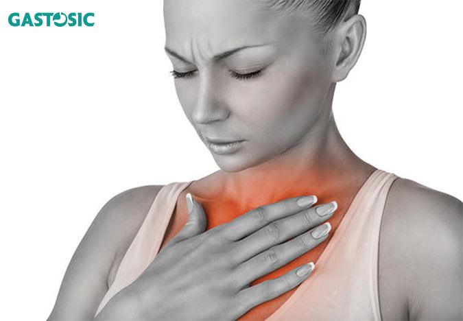 Trào ngược dạ dày gây ợ nóng và ợ chua