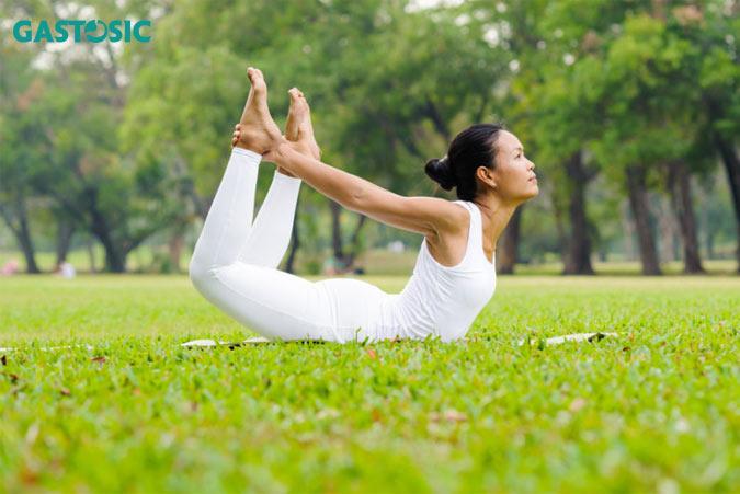 Tập yoga cải thiện trào ngược dạ dày hiệu quả