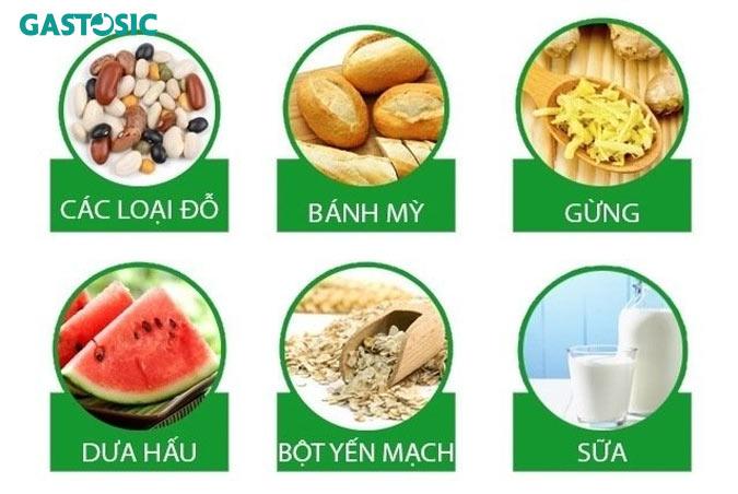 Thường xuyên bổ sung các thực phẩm giảm trào ngược, buồn nôn