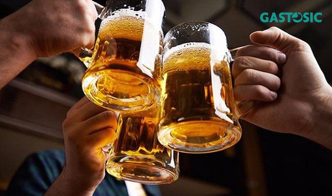 Tránh việc uống rượu bia