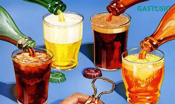 Tránh xa đồ uống có gas