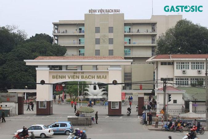Trào ngược dạ dày khám ở đâu -Bệnh viện Bạch Mai