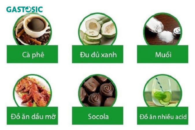 Trào ngược dạ dày nên kiêng ăn gì