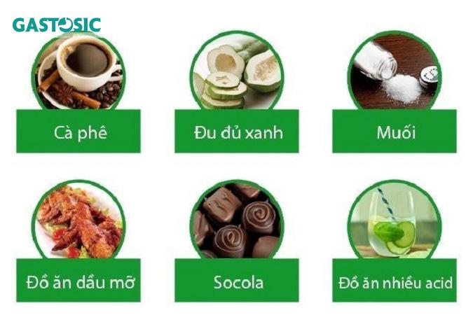 Không nên ăn những loại thực phẩm này khi bị trào ngược dạ dày
