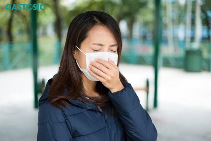 Nguy cơ viêm đường hô hấp tăng lên do trào ngược