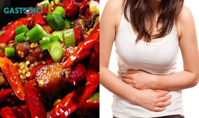 Tránh ăn đồ cay nóng