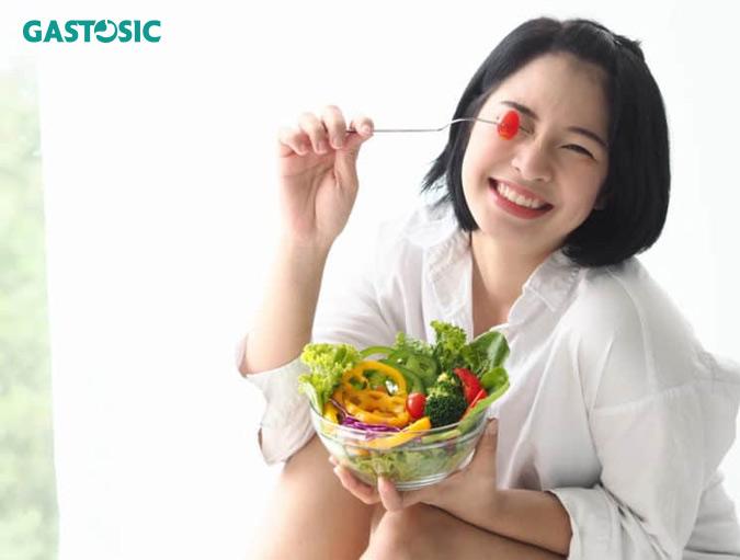 Chế độ ăn uống khoa học, hợp lý giảm trào ngược dạ dày hiệu quả