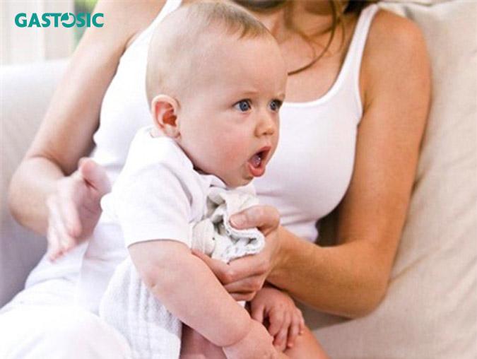 Giảm ợ chua trẻ em hiệu quả