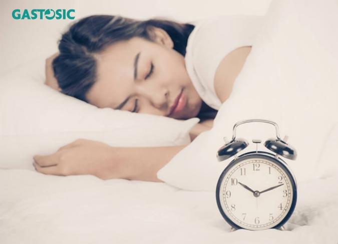Ngủ sớm sẽ giúp dạ dày khỏe mạnh
