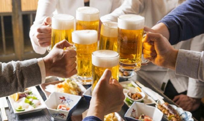 Uống rượu bia thường xuyên