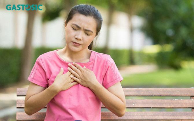 Ợ nóng, ợ chua nguyên nhân gây trào ngược dạ dày