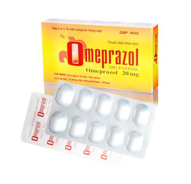 Thuốc Omeprazol 20mg